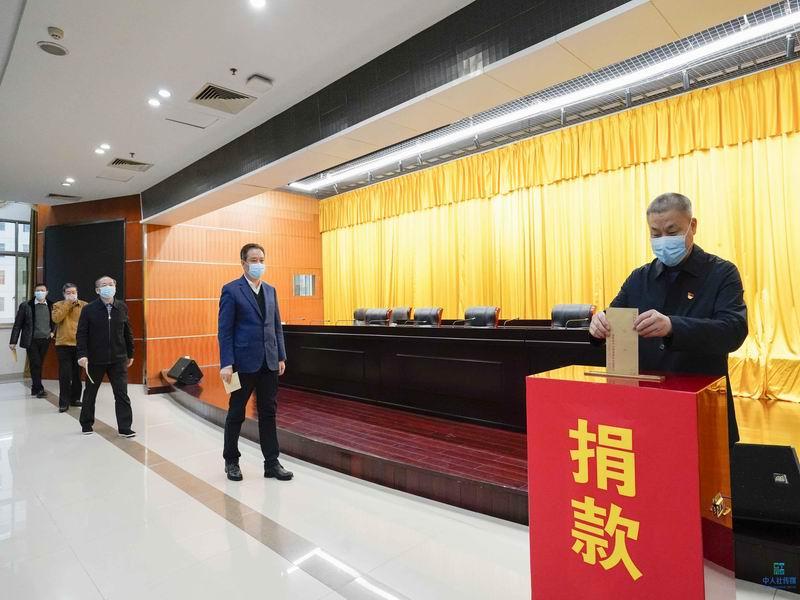 快讯|省人社厅广大党员积极助力防疫踊跃捐款